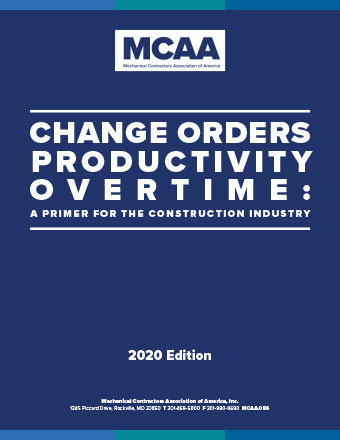 Change Orders, Productivity, Overtime - 2020 Ed. - Book