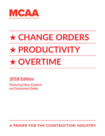 Change Orders, Productivity, Overtime - 2016 Ed. - Book